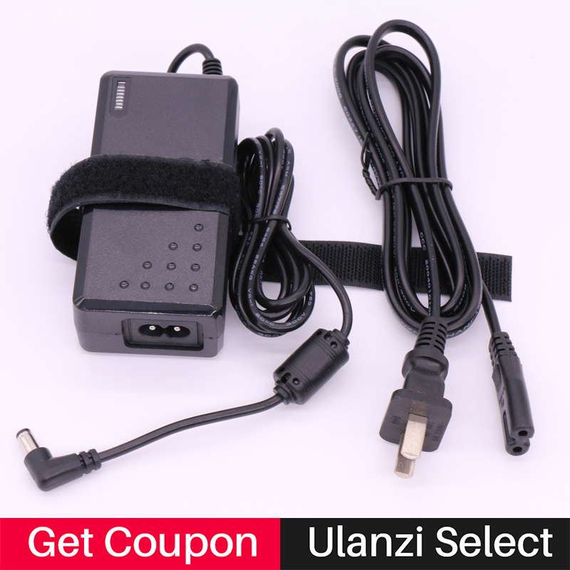 Ulanzi Falcon Eyes AC Power Adapter for Yongnuo YN300 III YN300III YN300Air YN600 <font><b>YN600L</b></font> II Camera LED Video Light for Canon image
