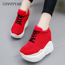 COVOYYAR High Top Casual Shoes 2019 Breathable Platform