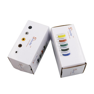 Image 5 - 25 m UL 1007 18AWG 5 צבע לערבב תיבת 1 תיבה 2 חבילה חוט חשמל כבל קו התעופה נחושת PCB חוט
