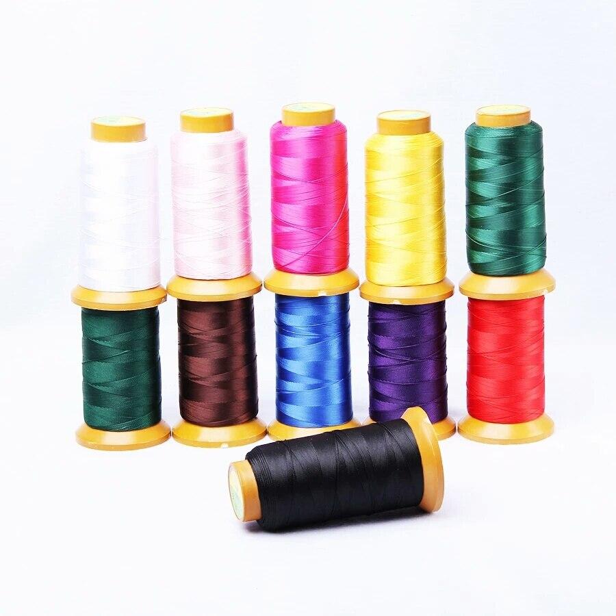 New arrival 10 Color Nylon Silk 0.6mm Cord Thread Line Fit