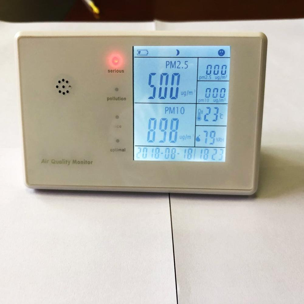 portable indoor air quality monitor HCHO TVOC PM2.5 pm10 Temp RH detector JSM136 from chinese factory                           portable indoor air quality monitor HCHO TVOC PM2.5 pm10 Temp RH detector JSM136 from chinese factory