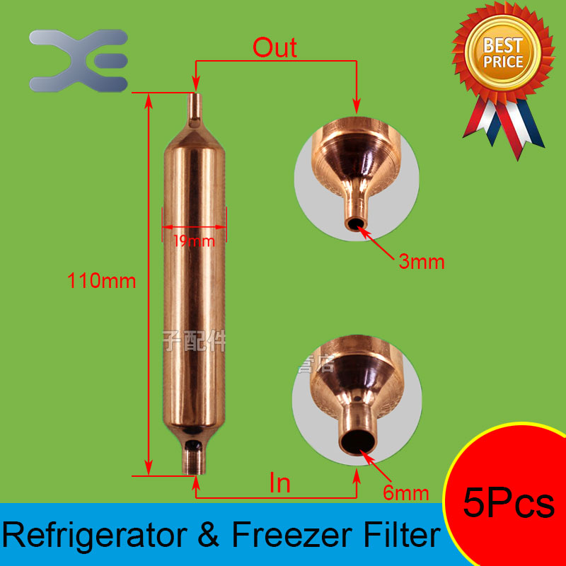 5Pcs 110*19mm Freezer Parts Freezer Spare Parts Refrigerant Ball Valve Refrigerator Spare Parts цена