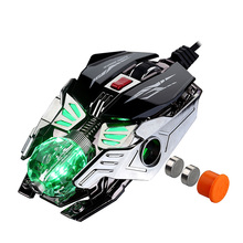 RAJFOO Laser Gaming Mouse 8 Buttons 7 Color Breathing Light Macro Programming Ajustable 4000DPI USB PC Game Mouse Gamer Mice