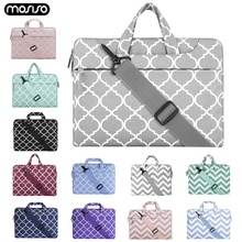 MOSISO Laptop Bag Sleeve For Macbook Pro 13 15 Notebook Handbag Shoulder Bags Xiaomi Air 13.3 15.6 Surface 3 4 5 6 Cover