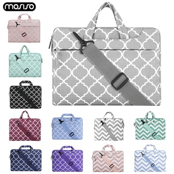 цена на MOSISO Laptop Bag Sleeve For Macbook Pro 13 15 Notebook Handbag Shoulder Bags For Xiaomi Air 13.3 15.6 Surface Pro 3 4 5 6 Cover