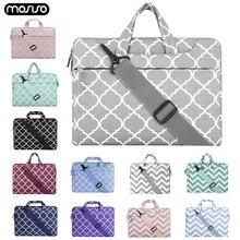 Сумка MOSISO для ноутбука Macbook Pro 13 15, сумка для ноутбука, Наплечные сумки для Xiaomi Air 13,3 15,6 Surface Pro 3 4 5 6, чехол