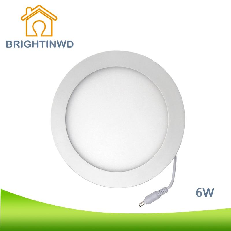 ФОТО LED Panel Light 6W LED Ceiling Recessed Grid Cell Downlight AC85-265V 110V/220V Adapter LED Panel Light SMD2835 Decorative Light