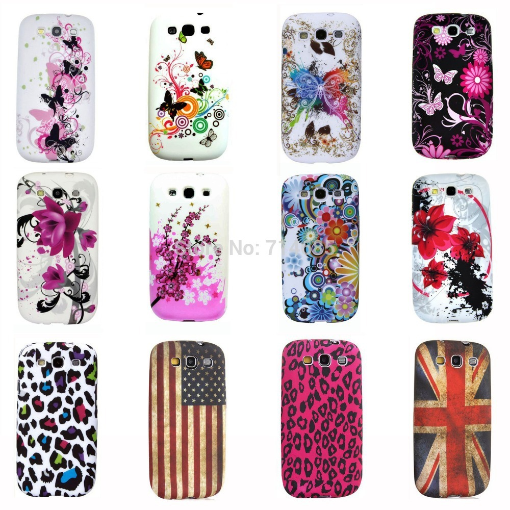 online store 41424 c7215 US $4.15 |Eiffel Circle Butterfly Polka Dots Owl Flag TPU Silicon Phone  Case for Samsung Galaxy S3 Neo i9301 & Galaxy S3 i9300 Back Cover on ...