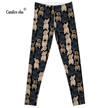 Leggings 2016 Fashion Plus Size Sexy Extra-terrestrial Digital Printing Fitness LEGGINGS S-4XL Drop Shipping hot ugly dog