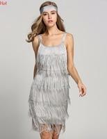 Hot Fashion Sexy Women Dress Tassels Straps Backless Pencil Dresses Glam Club Prom Party Dress Gatsby