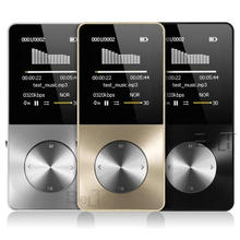2018 Aluminum 합금 16 기가바이트 MP3 Player 와 내장 스피커 HIFI player mp 3 Walkman mp-3 player video 무손실 music mp4 player(China)