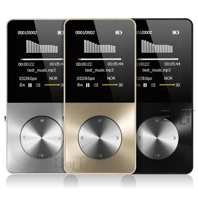 2019 アルミ合金 16 ギガバイト MP3 プレーヤー内蔵スピーカーの Hifi プレーヤー mp 3 ウォークマン mp 4 プレーヤービデオロスレス音楽 mp4 プレーヤー