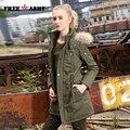 abrigos y chaquetas militares largos de plumas con capucha de mujer cazadoras femeninas deportivas de mujer de invierno GS-889