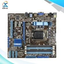 Для p7h55-m оригинальный используется для рабочего материнская плата для intel h55 гнездо uATX LGA 1156 Для i3 i5 i7 DDR3 16 Г На продажа