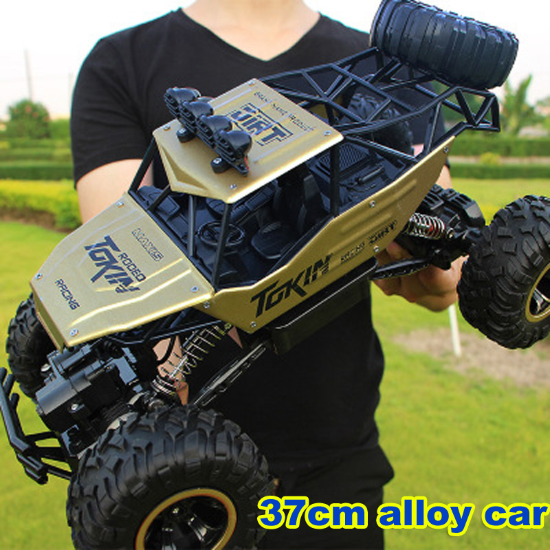 37cm Large 2.4G 1/12 RC Cars 4 Channels Charging RC Cars Electric Toys for Children Remote Control Cars Trucks Toys for Children цена 2017