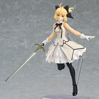 15cm Figma EX 038 Fate Stay Night Saber Lily Action Figure Saber Figures PVC Sexy Girls Toys Dolls Collection Model Collectible