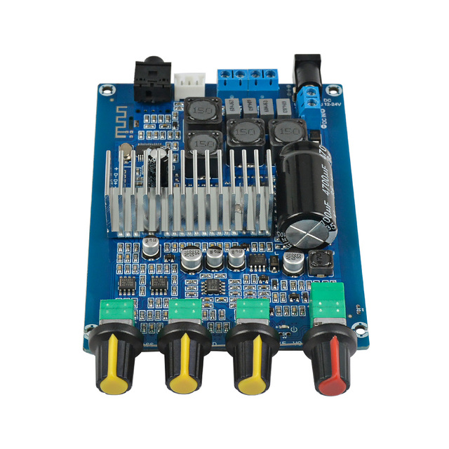 AIYIMA TPA3116 Bluetooth 4.2 Digital Amplifier Board 50W*2 Dual Channel 2.0 Audio Amplificador With Volume Adjustment DC12-24V