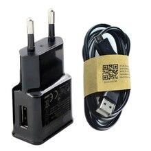 Зарядка Адаптер + Кабель Micro Usb для Samsung Galaxy s7 edge & S3 S4 S6 A5 A7 J5 серийный Зарядное Устройство ЕС 2А 5 В Разъем Гарантия Качества