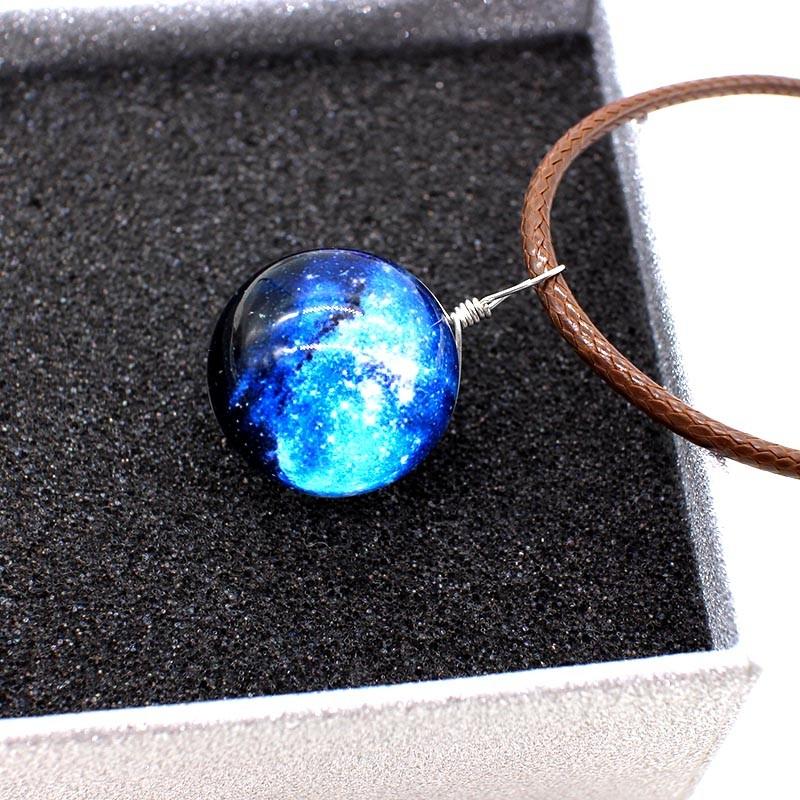 HTB1Kg2uNVXXXXbyapXXq6xXFXXXb - New Stars Ball Glass Collares Duplex Planet Crystal Galaxy Pattern