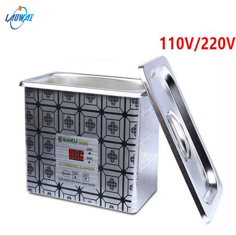Electric Ultrasonic Cleaners Ultrasonic Clearing Machine Jewelry cleaner Glass Watch Cleaning Machine