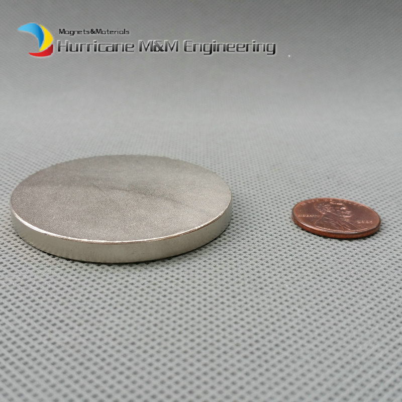 1 pcs Dia. 50x5 mm Grade N52 Strong magnet NdFeB Disc Magnet Neodymium Permanent Magnets NiCuNi Plated Axially Magnetized 1 pack dia 4x3 mm jewery magnet ndfeb disc magnet neodymium permanent magnets grade n35 nicuni plated axially magnetized