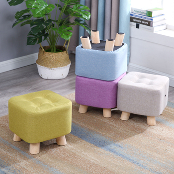 Fashion home sofa square stool 1