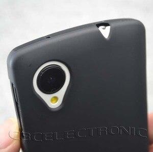 Image 4 - החדש TPU מט עור ג ל Case כיסוי רך עבור LG Google Nexus 5 E980 בחזרה טלפון סיליקון תיק מקרי