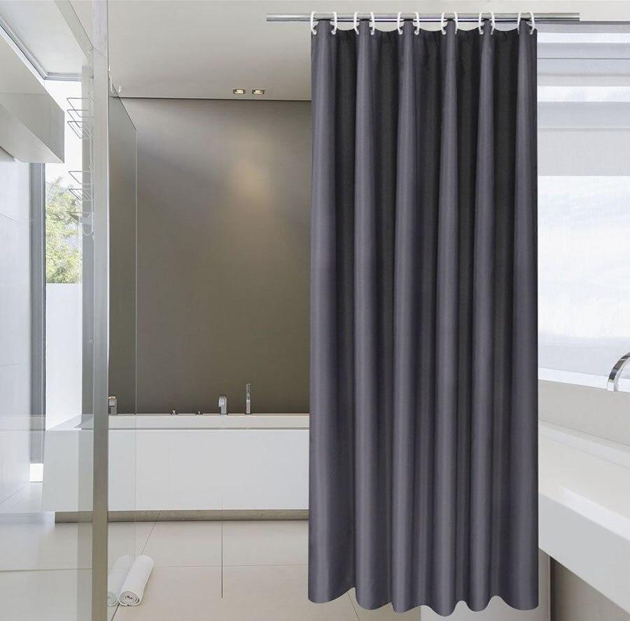 Ufriday Moderne Etanche Polyester Tissu Salle De Bains Rideau Gris Rideau De Douche Ecrans De Bain Rideaux Pour Gris Bain Rideau Nouveau