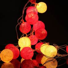 Ватные фея decor хэллоуин шарики фонари home строка сша свадьба plug