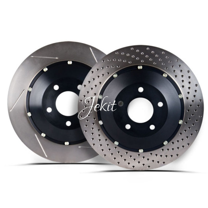 Auto Replacement Part Brake Disc With Center Bell For