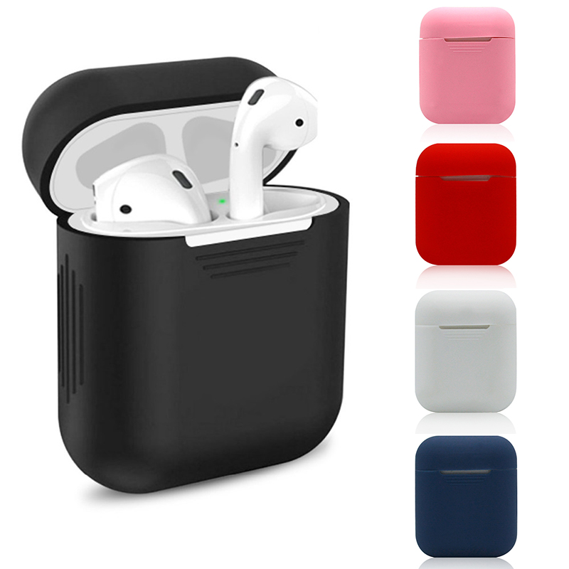 <font><b>Case</b></font> For Apple Airpods Cover i10 i11 i12 i13 i14 <font><b>i18</b></font> i20 i30 i40 i60 i77 i80 i100 <font><b>tws</b></font> w1 chip Earphone <font><b>Cases</b></font> Accessory air pods image