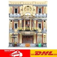 XingBao 01005 блок 5052 шт. подлинной творческой MOC город серии морской музей набор строительных блоков Кирпичи игрушки модель подарки