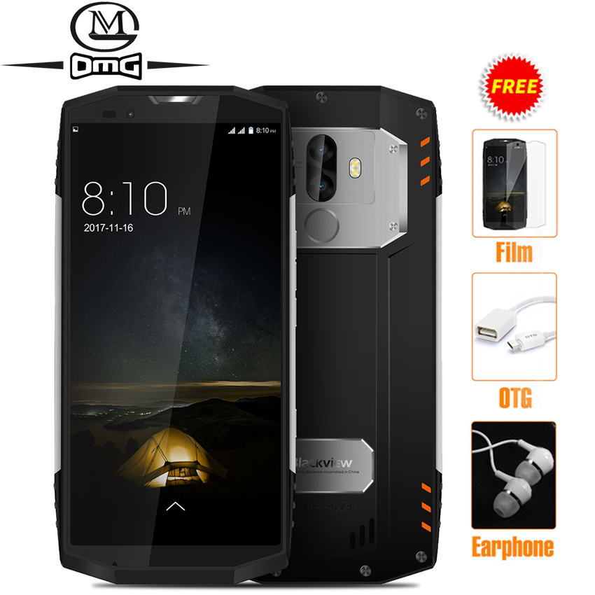 "Blackview BV9000 PRO IP68 Waterproof shockproof mobile phone Android 7.1 5.7"" 6GB RAM 128GB MT6757CD Octa core 4180mAh NFC 4G"