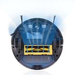Image 2 - Ilife a4s robô aspirador de pó poderosa sucção para tapete fino & piso duro grande dustbin função miniroom recarga automática