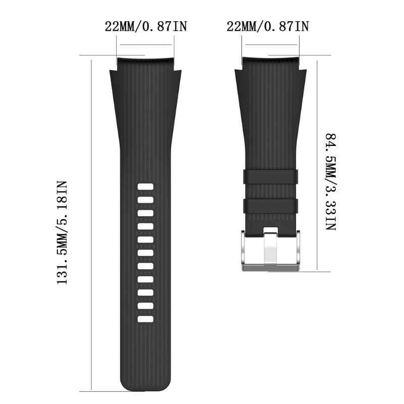 22mm-Silicone-Watch-Band-Wrist-Strap-for-Samsung-Galaxy-Watch-46mm-Gear-S3-Frontier-Classic-Gear (1)