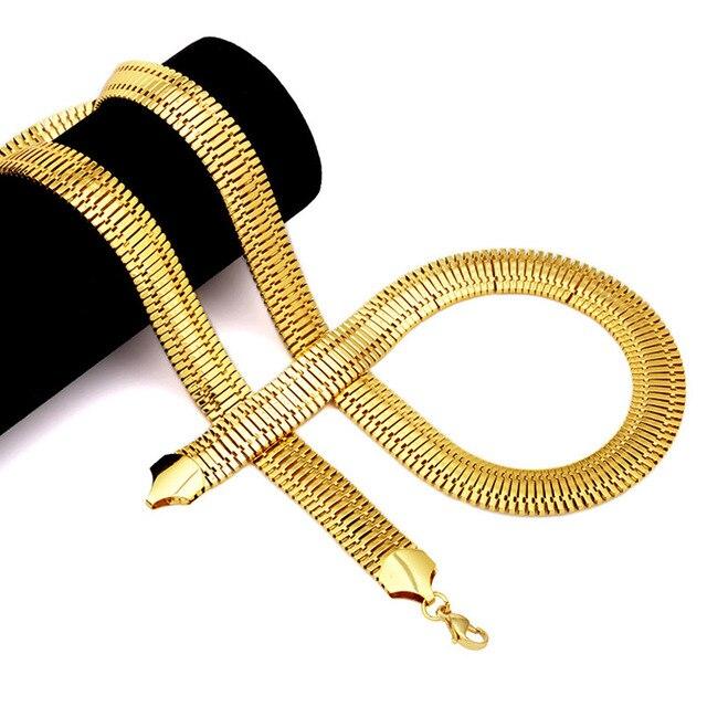 Купить мужская цепочка с гальваническим покрытием ювелирное изделие
