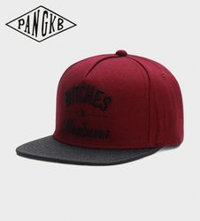 PANGKB Brand B&M CAP spring autumn letter snapback hat hip hop Headwear for men women adult outdoor casual sun baseball cap