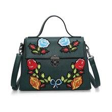 Stilvolle Blumen Luxus Handtaschenfrauen-designer Stickerei Frauen Umhängetaschen Große Crossbody-tasche für Lady Hohe Qualität