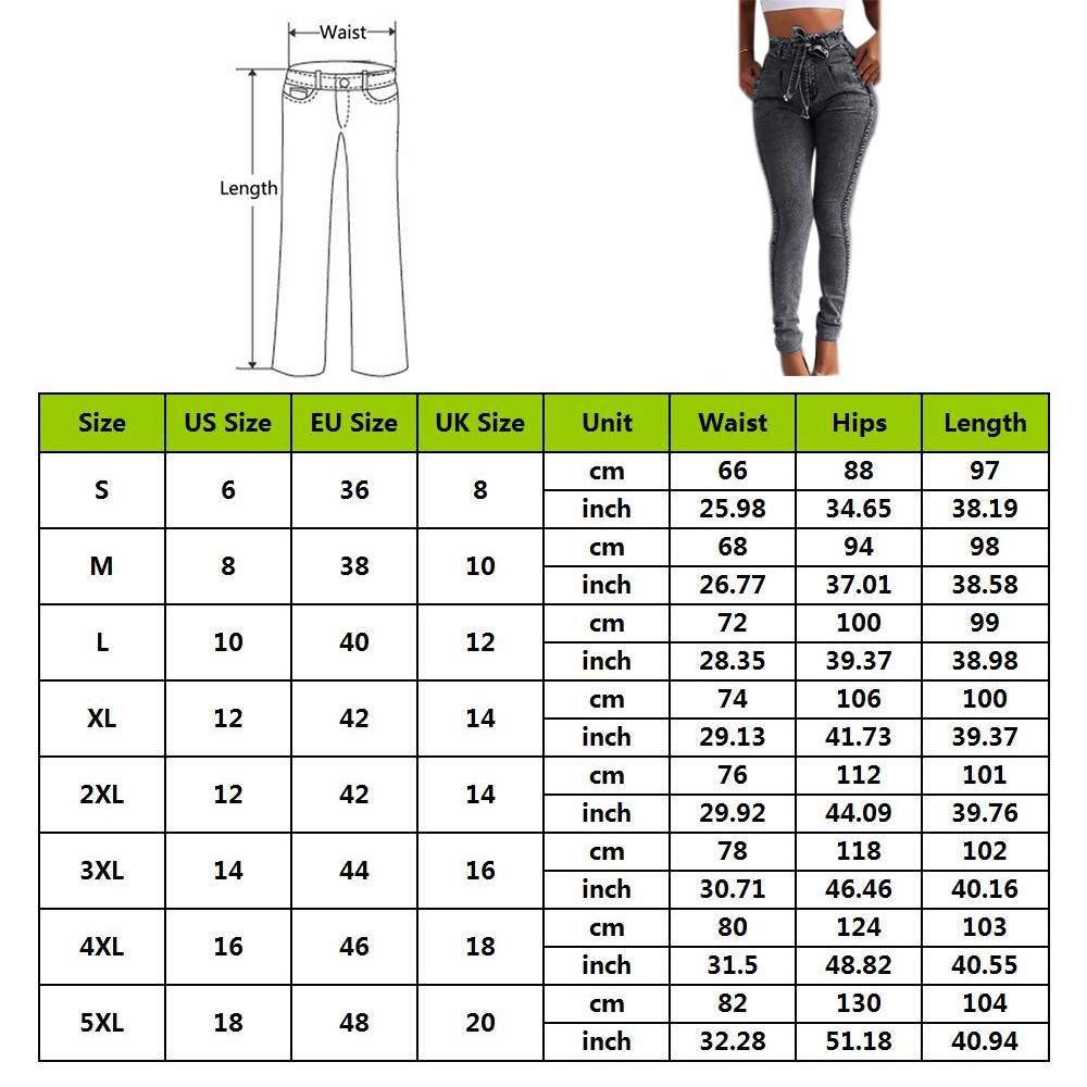 Summer Solid Skinny Jeans Woman Casual Pencil High Waist Jeans Tassel Drawstring Slim Jean Femme Stretch Demin Ladies Jeans
