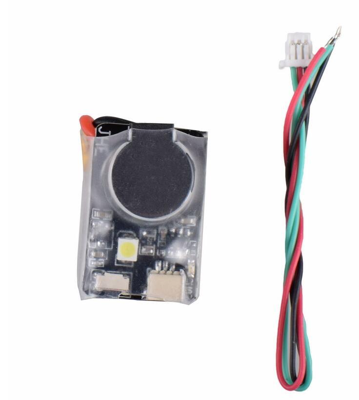 ViFly Finder JHE42B 5V Super Loud Buzzer Tracker 110dB with LED Buzzer Alarm For Multirotor FPV Racing Drone Flight Controller (2)