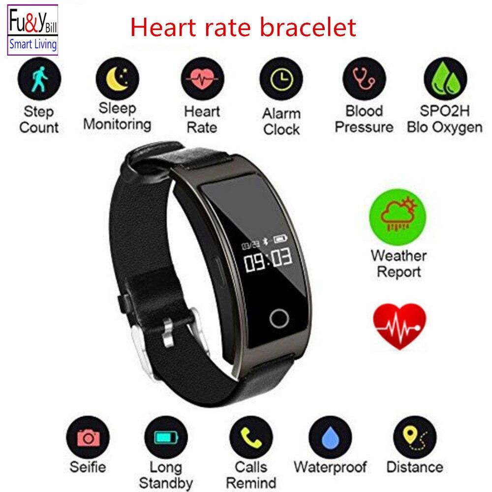 Fu y Bill Fitness Tracker Smart Bracelet Sport tracker Activity health Tracker Heart Rate Blood Pressure
