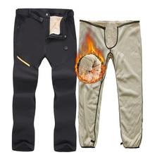 40 градусов лыжные брюки зимние уличные ветрозащитные водонепроницаемые сноуборд зимние брюки толстые теплые брюки мужские треккинговые походные брюки