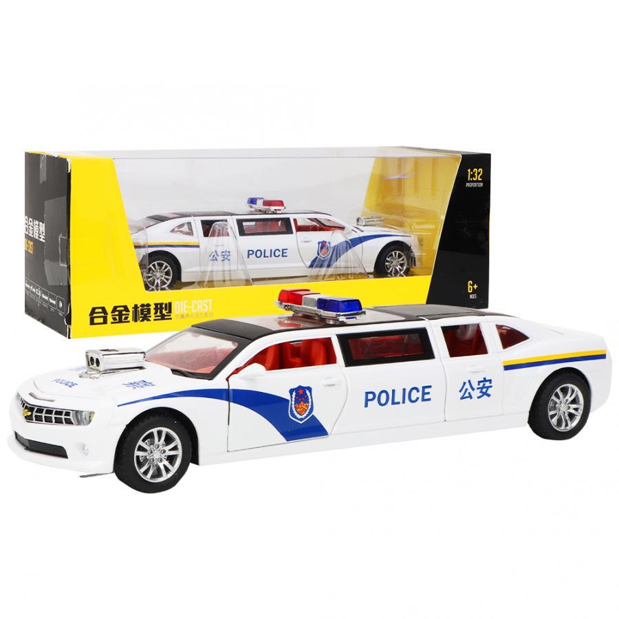 Simulation alliage Pullback véhicule jouet voiture modèle son léger avec 4 portes pour enfants enfants