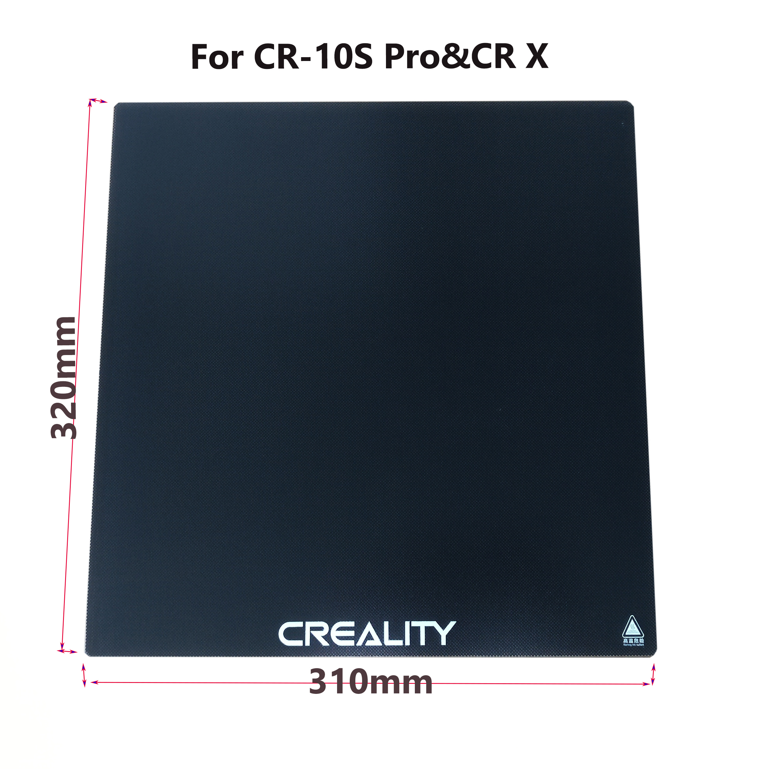 320 310mm New Creality 3D Ultrabase 3D Printer Platform Heated Bed Build Surface Glass plate for 10S pro CR X-in 3D Printer Parts & Accessories from Computer & Office    1