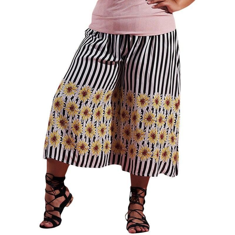 HongMiao Hippie Colorful Flare Pants Women Casual Rainbow ... |Hippie Striped Pants