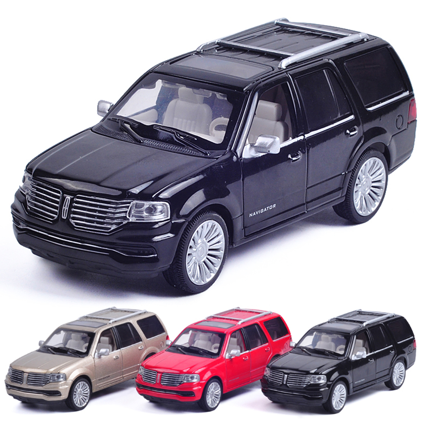 1:32 SUV Navigator Simulation Toy Vehicles Model Alloy Pull Back Children Toys Genuine License Collection Gift Off-Road Car Gift