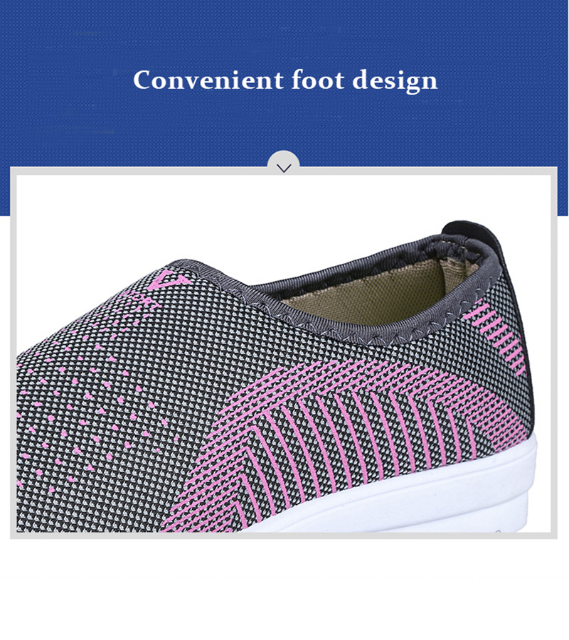 Mesh women sneakers Breathable Slip On casual shoes women fashion comfortable Summer Flat Vulcanize Shoes Zapatos Mujer VT248 (2)