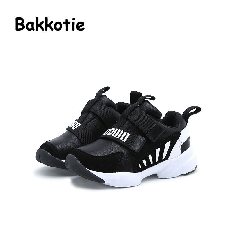 Bakkotie 2017 New Autumn Baby Boy Brand Shoe Breathable Girl Leisure Sneaker Genuine Leather Soft Sole Toddler Child Trainer Kid bakkotie 2017 new autumn baby boy casual shoes khaki genuine leather black kid girl brand flat shoes soft sole breathable child