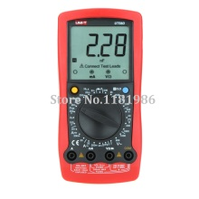 UNI-T UT58D Modern Manual Range Digital Multimeter Ammeter Multitester w/ Inductance Ohm Capacitance Test Multimetro LCR Meter стоимость