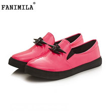women flat shoes spring sweet super soft quality footwear fashion brand round toe appliques flats shoes size 34-43 P23449